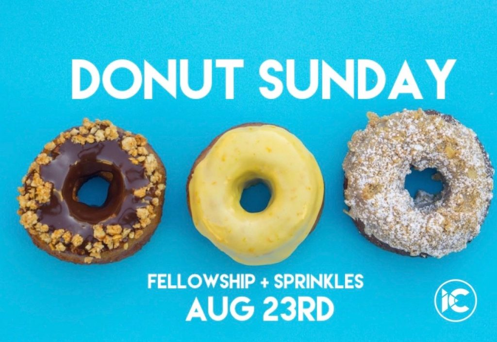 Donut Sunday August 2020