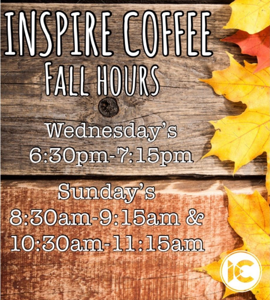 Fall Coffee Hours