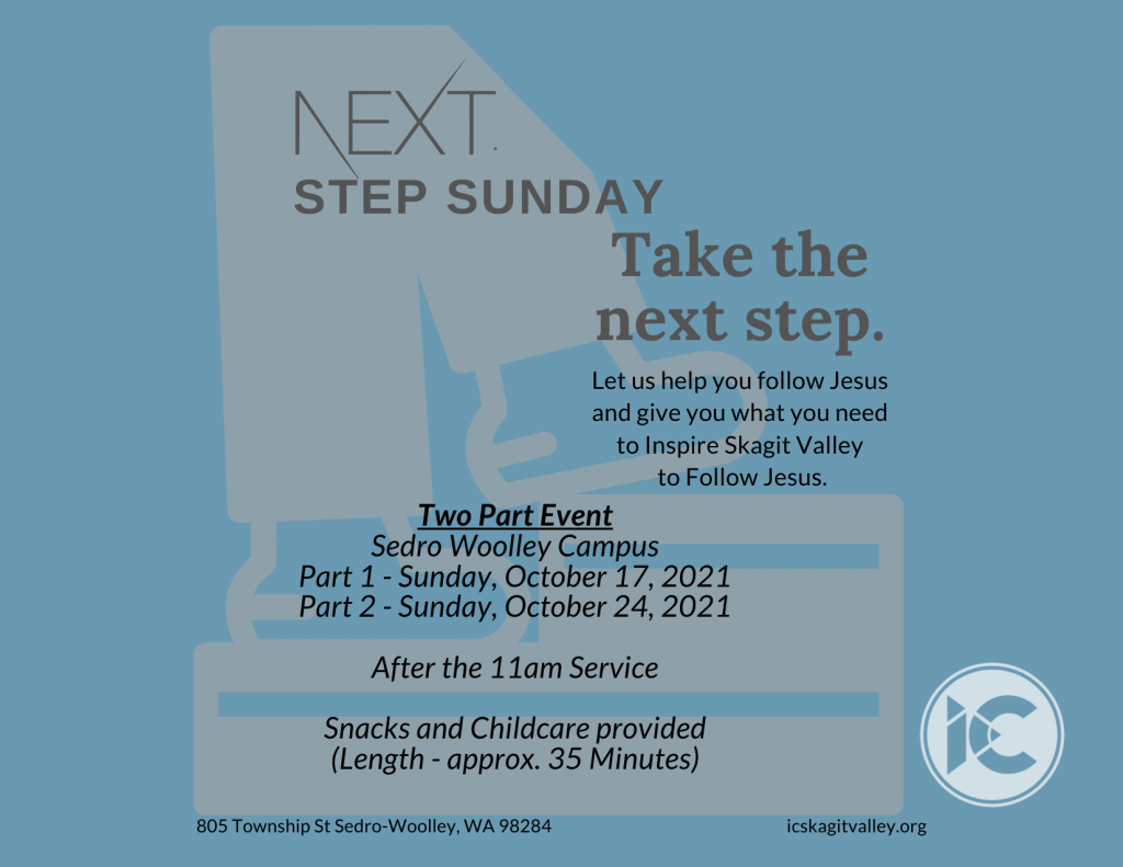 Next Step Sunday Touch Card